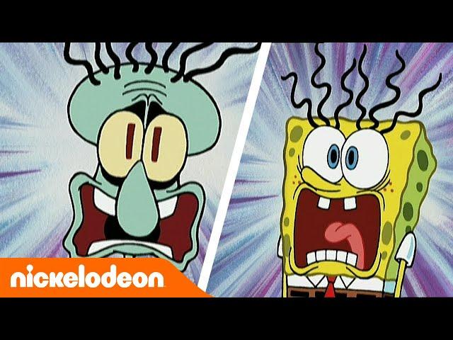 SpongeBob Squarepants | Fijne Halloween 👻 | Nickelodeon Nederlands