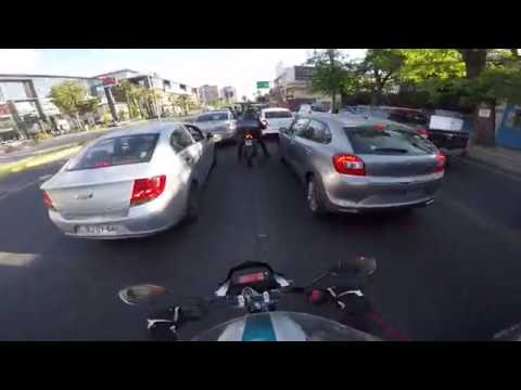 GoPro | Daily ride in santiago, Chile 0002 | Yamaha FZ