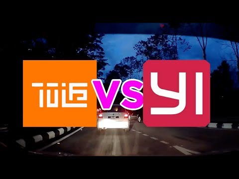 Dashcam : Xiao Mi 70mai VS Yi Smart Cam, Day & Night Tested