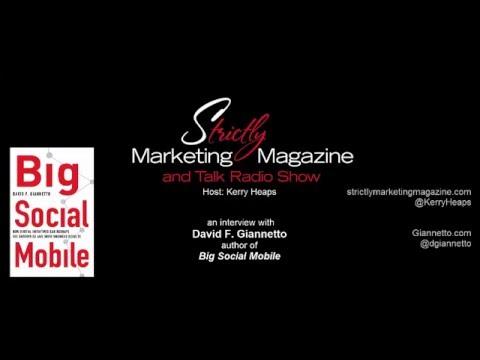 Strictly Marketing Magazine - David Giannetto Interview