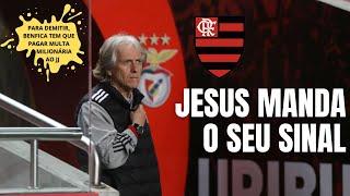Com time em crise, Benfica quer se livrar de Jorge Jesus, que manda sinais de possível volta ao Fla