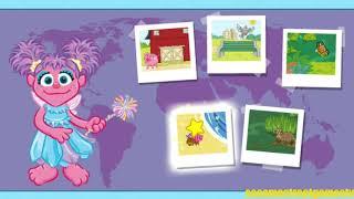 Sesame Street Abby's Adventure Game Letters Entertainment