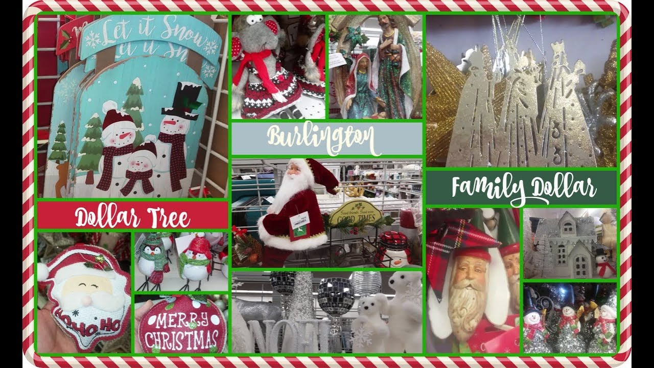 Family Dollar Christmas Trees.Christmas 2017 Dollar Tree Burlington Coat Factory Family Dollar