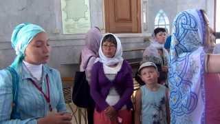 В мечети Кул Шариф (г.Казань)