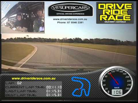 Shane's V8 Supercars Driving Experience