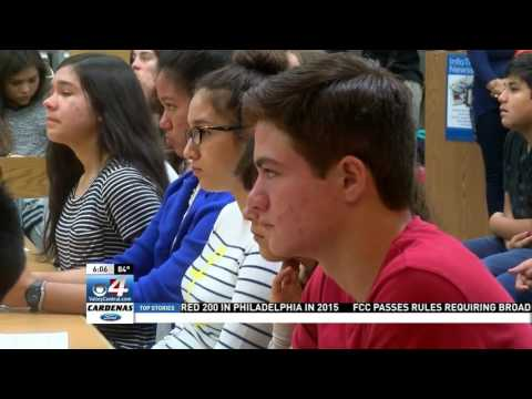 Valley School Working To Promote the Importance of Voting