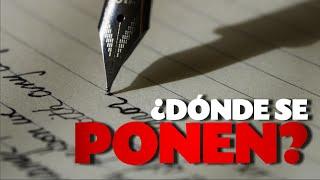 Cuándo usar el punto, la coma y el punto y coma