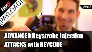 Advanced Keystroke Injection Attacks using Key Codes - Hak5 2503
