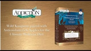 """Outback Kangaroo Feast Holistic Dog Food"" by @AddictionPetUSA for www.Addictionfoods.com"
