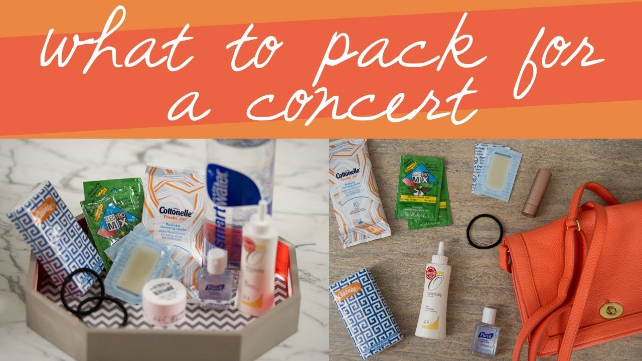 What to Pack for an Outdoor Concert or Festival