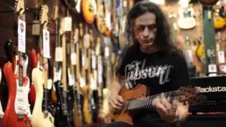 Sinisalu Guitars AN   with Dimarzio PAF / Mo Joe  pickups