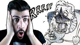 Mi reacción a EVIL PATRICIO - Comic de HORROR de Bob Esponja ( MUY FUERTE) ¿ Mejor que Gorefield?