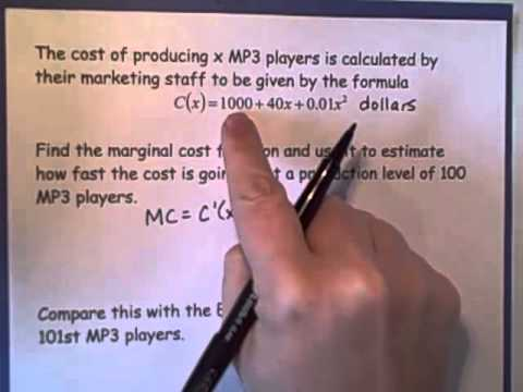 marginal analysis Advertisements: the following points highlight the five main applications of marginal analysis the applications are: 1 make-or-buy decisions 2 capital expenditure decisions 3.