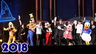米奇老鼠 和 米妮老鼠 驚喜現身「五月天 LIFE《人生無限公司》2018 巡迴演唱會無限放大版香港站」