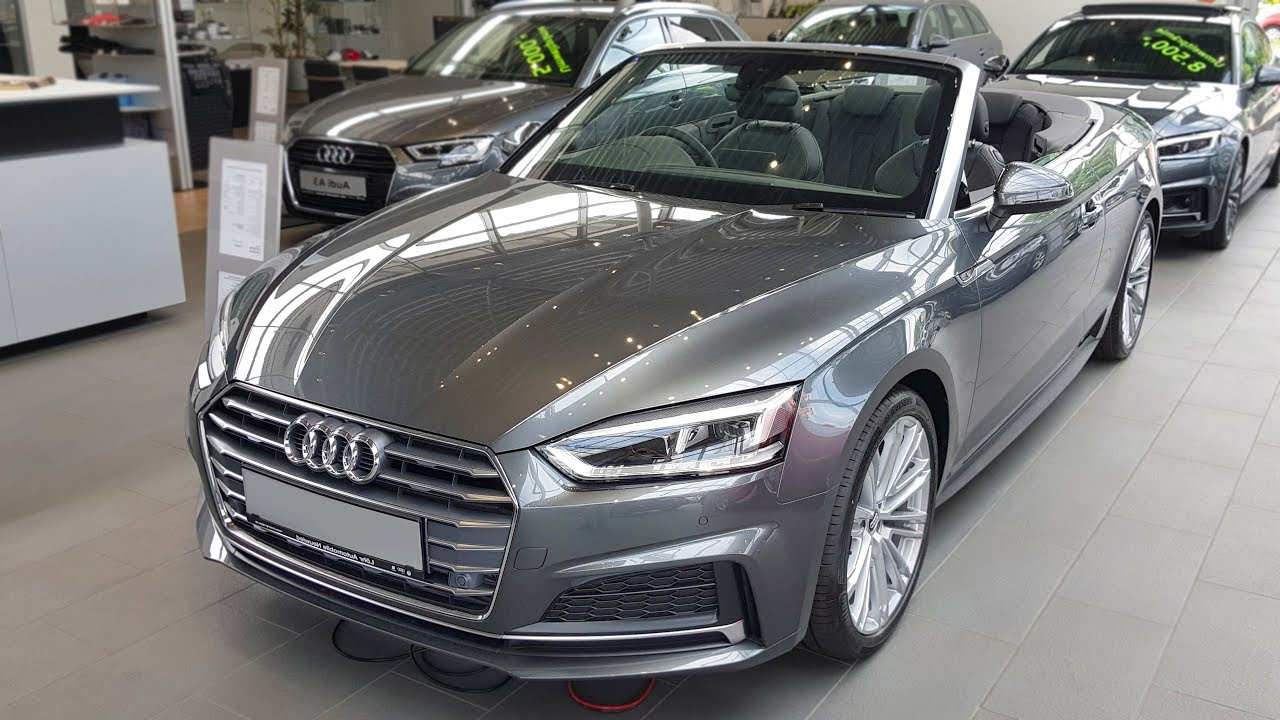 2018 Audi A5 Cabrio Sport 20 Tfsi S Tronic Audiview Youtube