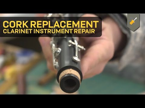 Cork Replacement: Clarinet Instrument Repair