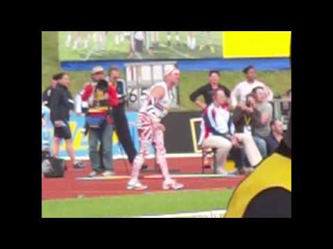 Roald Bradstock's World Record at the 2012 UK Olympic Trials: M50 WR 72.78m / 800g