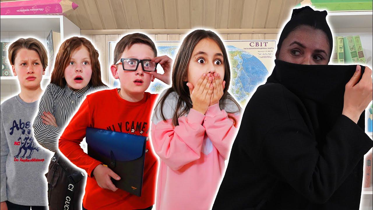 ¡Eva y sus amigos están mirando a la maestra! ¿Quién roba teléfonos y cosas?