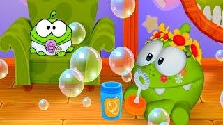 АМ НЯМ #19 – МУЛЬТИК   My Om Nom мой виртуальный питомец игра про мультик #Ушастик KIDS
