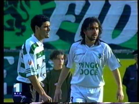 18J :: Sporting - 3 x Farense - 2 de 1997/1998