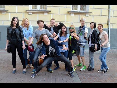 Michael Jackson's dance Jam Session. Staryj Arbat Street, Moscow, Russia, 08/05/2016