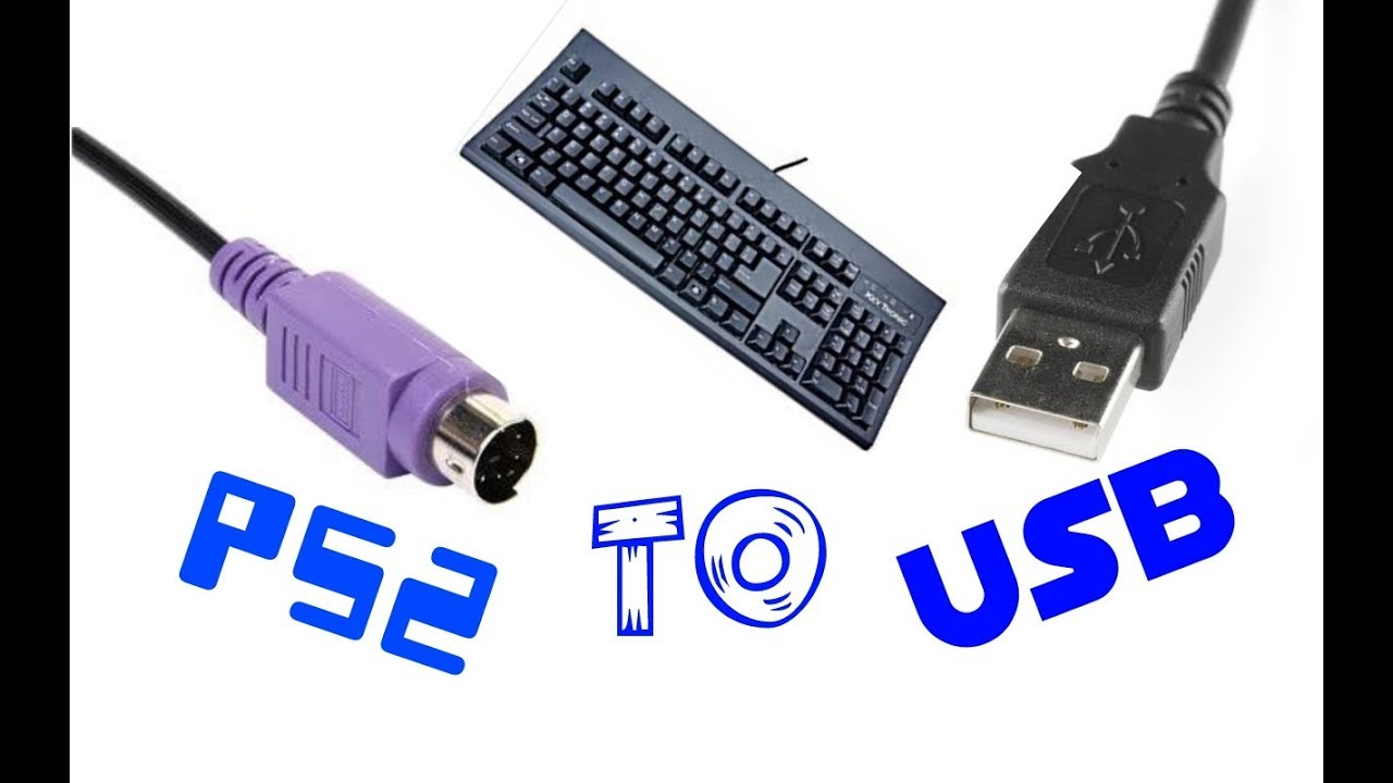 How to turn a ps2 keyboard to a usb keyboard !