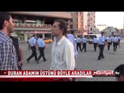"Taksim Square's ""Standing Man"" #OccupyGezi"