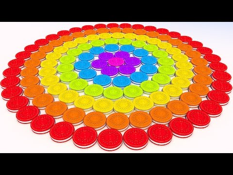 Thumbnail: Learn Colors with 3d Cookies for Kids and Children