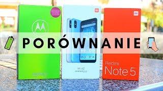 Porównanie: Redmi Note 5 vs Mi A2 vs Moto G6+