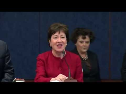 Senators Collins and Donnelly announce the reintroduction of the 40 Hours is Full Time Act