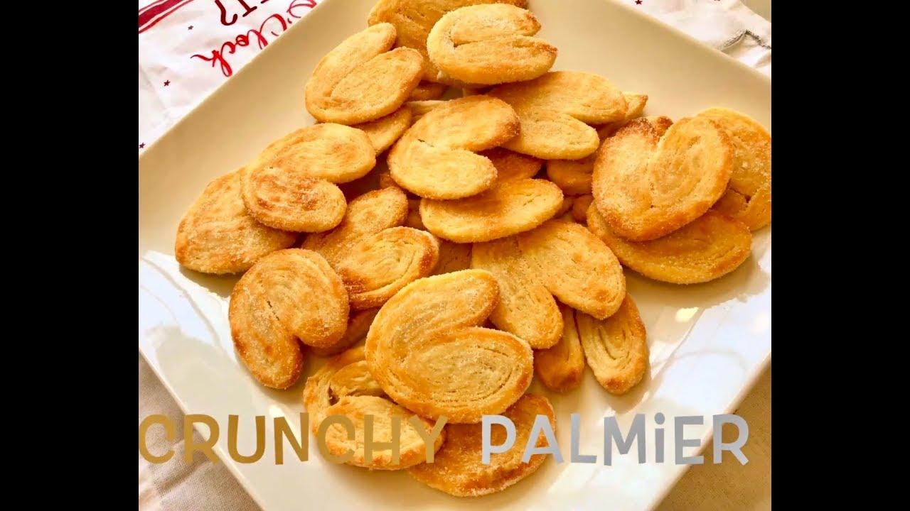 Crunchy Palmier (French)_ Cách Làm bánh Palmier (Pháp)