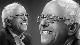 Bernie Sanders Painting, From YouTubeVideos