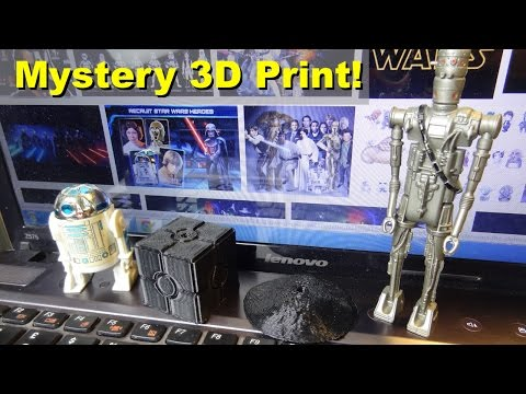 3D Printing Mystery Items for YouTube Channel Toy Polloi   James Bruton