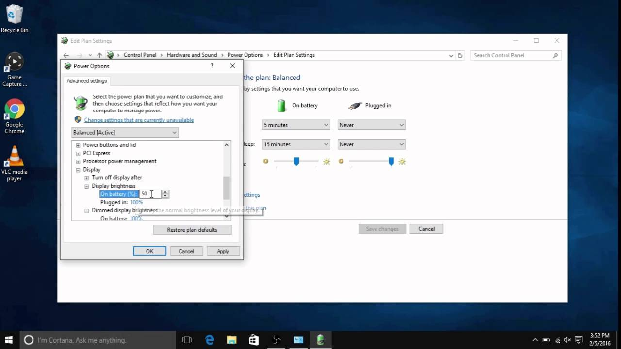 How to Change Screen Brightness Settings in Windows 10