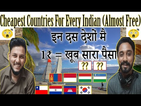 Top 10 Countries - Every Indian Feel Rich - Countries to Travel in Cheap 2018 - AA Reactions