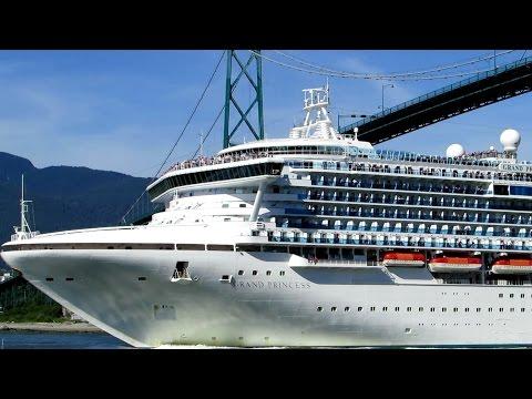 Grand Princess   - Cruise ship in Vancouver BC June 6, 2015
