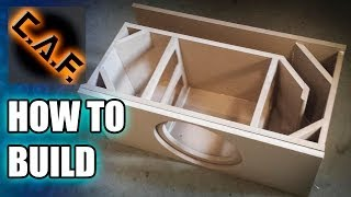How To Build A Subwoofer Box
