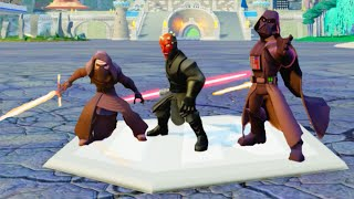 Disney Infinity 3.0 All Sith Lords Skills/Abilities Showcase