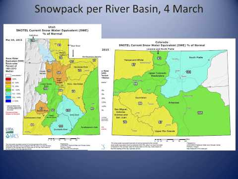 A February and Winter Climate Summary, and a Spring Outlook