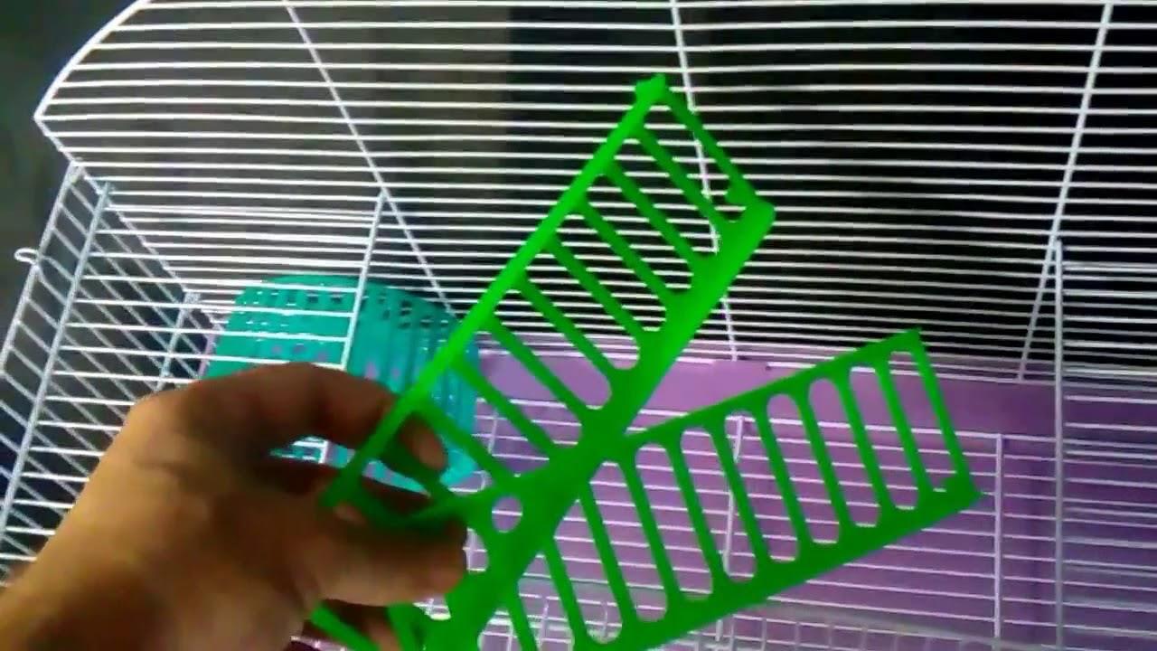 Обзор моей клетки для кроликов 🐰🐰🐰 - YouTube