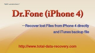 Data Recovery for iOS | Recover data from iPhone 4 directly and iTunes backup