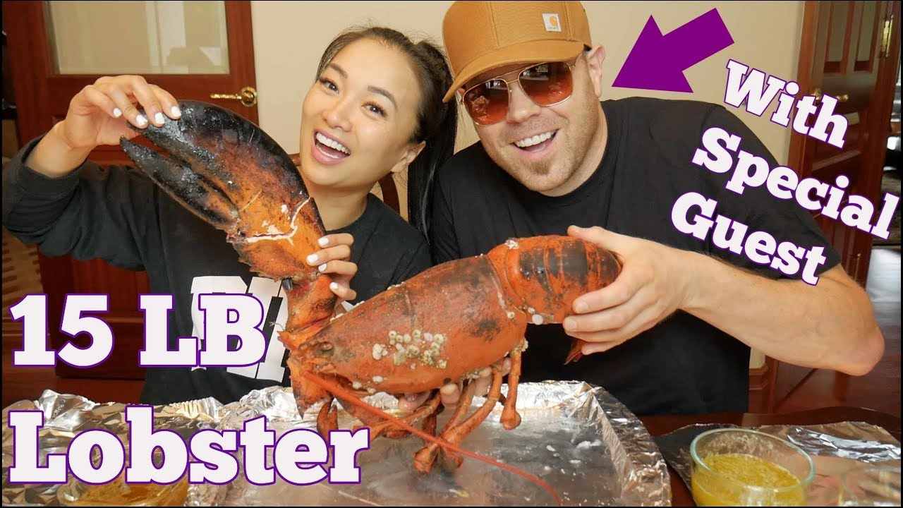 Asmr Giant Claw From A 15lb Lobster Eating Sounds No Talking Sas Asmr Youtube Sas asmr lobster tail and noodles. asmr giant claw from a 15lb lobster