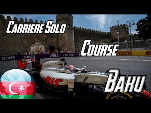 [FR-PC-HD] F1 2016 - Carrière Solo Haas - #8 Baku - Course