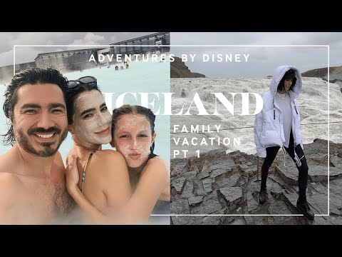 Adventures By Disney Iceland Family Vacay Pt 1 (Blue Lagoon, Glacier Hike) // Brittany Xavier