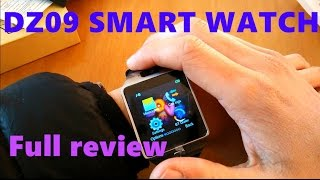 Smart watch:DZ09 Smart Watch Review including and how to download the Sync software to your watch
