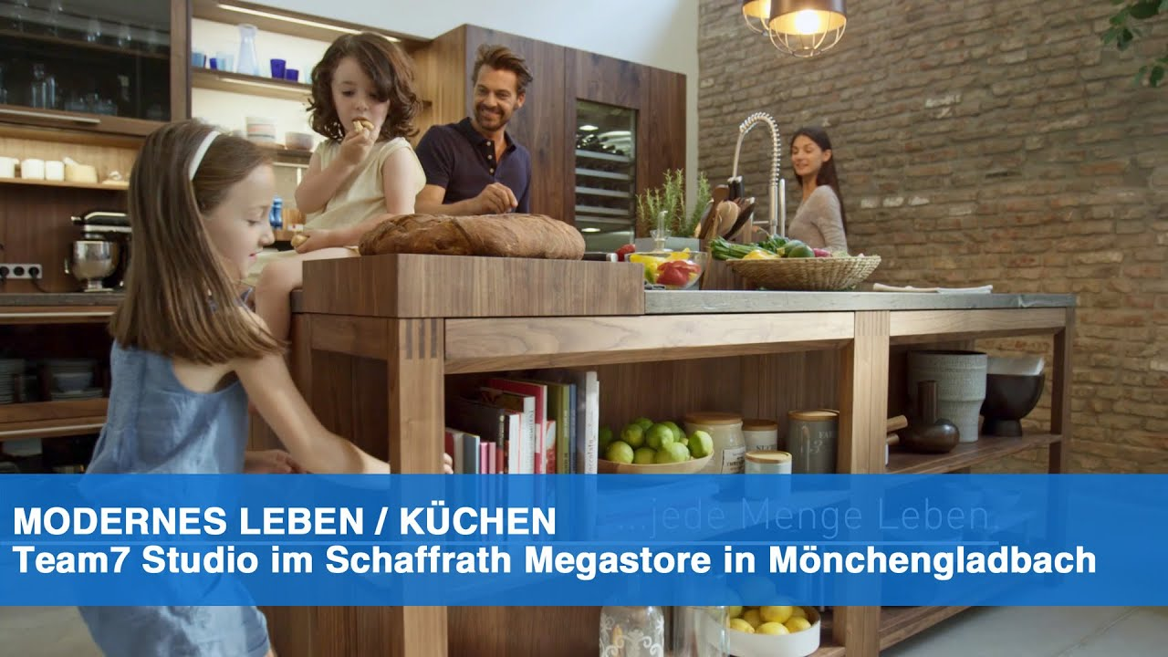 TEAM7 im KÜCHEN SCHAFFRATH MEGASTORE - YouTube