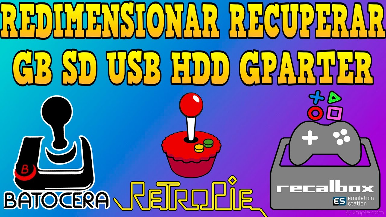 🛠️ Tutorial Para Novatos # 3 Redimensionar Expandir Imagen Gparter (Raspberry) (Odroid) (PC)