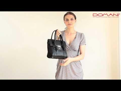 Женская сумка Lorenzo Pratto/ Обзоры брендовых итальянских сумочек/ Интернет-магазин Domani