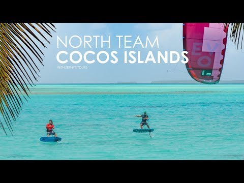 This is how the Pros kitesurf the Cocos Islands