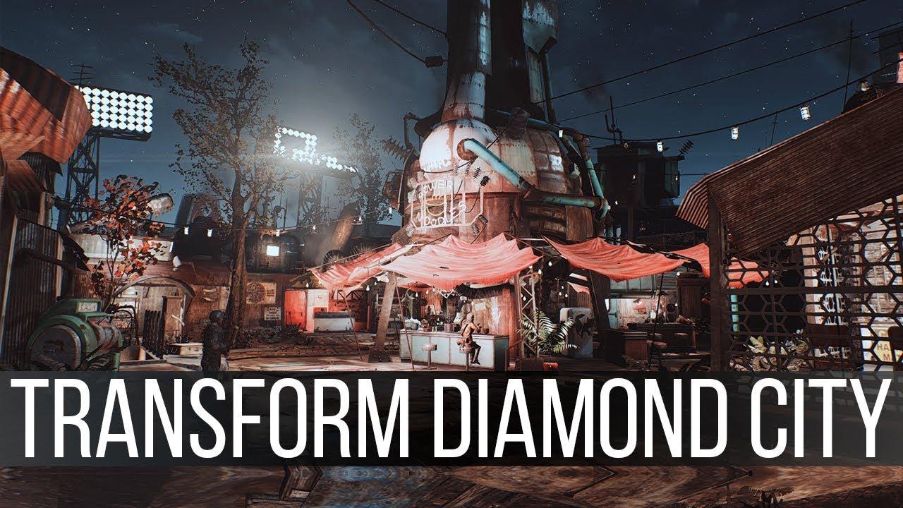 Femshepping's Diamond City Edit at Fallout 4 Nexus - Mods
